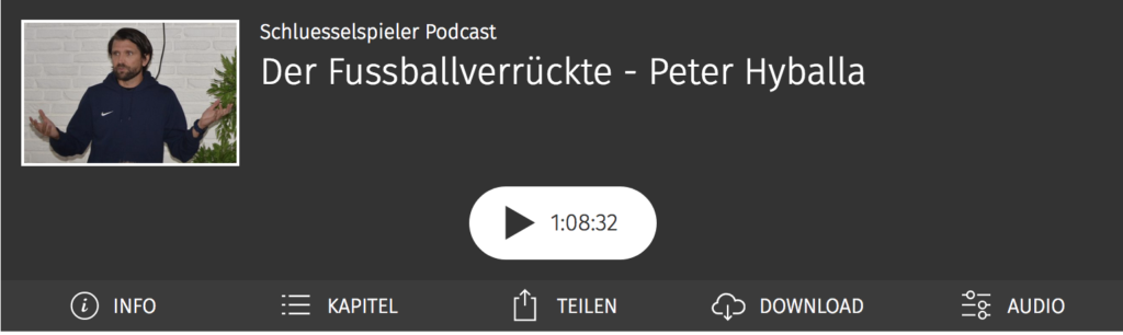 Der Fussballverrückte - Peter Hyballa